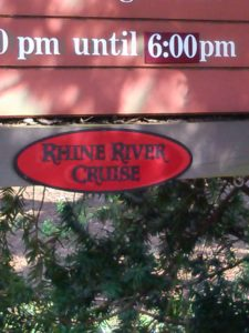 "We'll even set you up on a ""Rhine"" river cruise!"