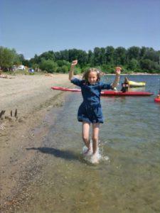 Zoe jumping